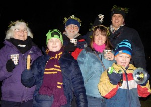 Wassail 2016, Jill and Pete harvey and family 16-1-1