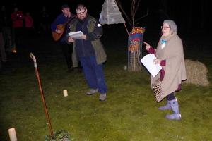 Wassail 27 WEB Ranger Vicky as Mrs Day Simon Woolford 13-1-18