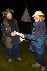 Wassail 33 WEB Steve Hinton appointed Ranger Services Manager from 1-1-18 Simon Woolford 13-1-18