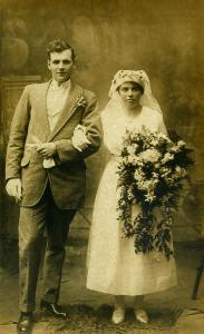 Hudson Clayton Roberts and wife Ellen Troth WEB