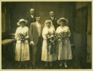 Hudson Roberts and Ellen Troth Wedding 19:2:1919WEB