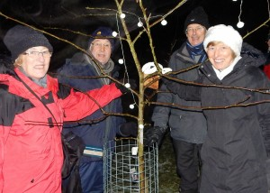 Wassail 2016, Mike Brooke, Roy and Sue Hughes 16-1-1