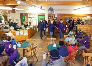 Wassail 2016, Step on Board in Vistors Centre 16-1-16