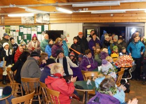 Wassail 2016, Visitors' Centre 16-1-16