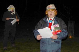 Wassail 29 WEB Keith Woolford as 'McDonald Trumpty' Simon Woolford 13-1-18